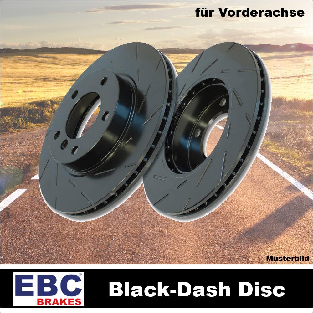 ebc bremsscheiben vorne va black dash disc bmw usr932. Black Bedroom Furniture Sets. Home Design Ideas